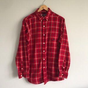 Chaps Flannel Button Down